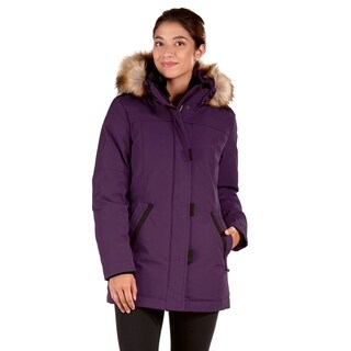 Women's Polyester and Cotton Down Plus-size Jacket (2 options available)