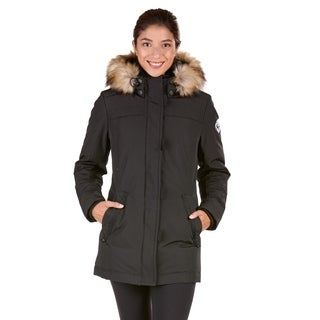 Women's Fur Hood Down Jacket