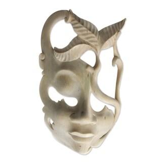 Wood Mask, 'Javanese Girl' (Indonesia)
