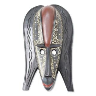 Ghanaian Wood Mask, 'The Conqueror' (Ghana)