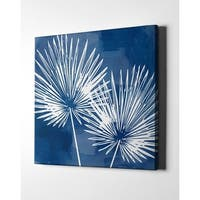 """Epic Graffiti """"Painted Sky Palms"""" by Linda Woods, Giclee Canvas Wall Art"""