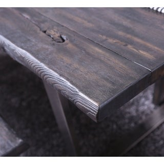 Furniture of America Kelani Rustic 76-inch Dining Table