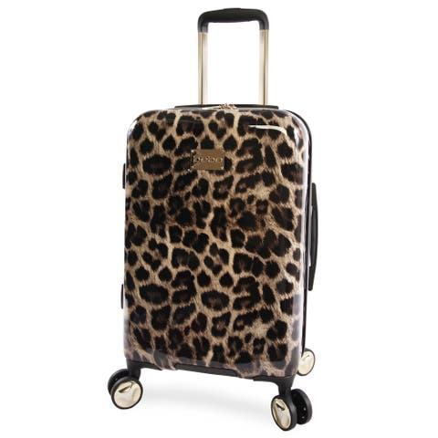 BEBE Adriana 21-inch Hardside Carry-on Spinner Upright Suitcase