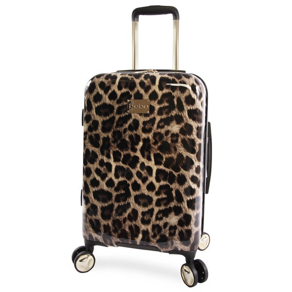 6d1883903f3c Shop BEBE Adriana 21-inch Hardside Carry-on Spinner Upright Suitcase ...
