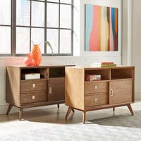 Nessa Mid-Century Buffet Server Table by iNSPIRE Q Modern