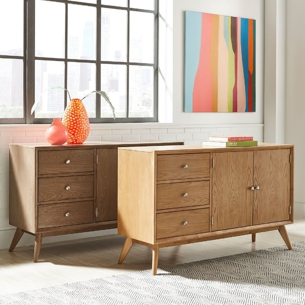 Hester Mid Century Buffet Server Table By INSPIRE Q Modern