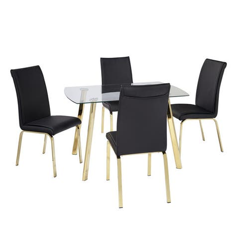 Simple Living 5-Piece Uptown Dining Set