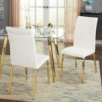 Simple Uptown Parsons Chairs - Set of two