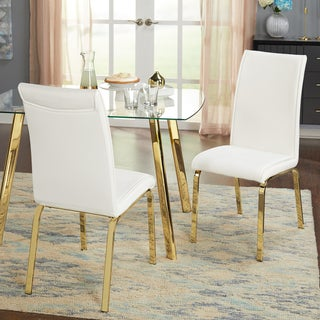 Merveilleux Simple Uptown Parsons Chairs   Set Of Two
