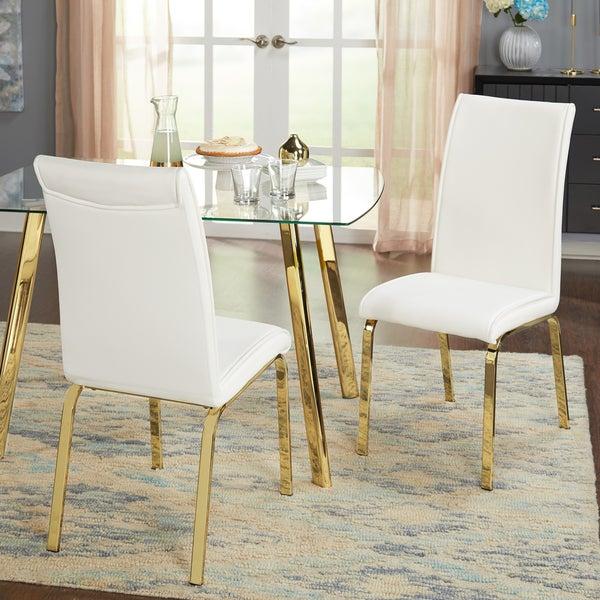 Charmant Simple Uptown Parsons Chairs   Set Of Two