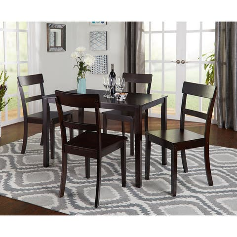 Buy 5 Piece Sets Kitchen Dining Room Sets Online At Overstock Our Best Dining Room Bar Furniture Deals