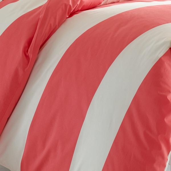 Poppy /& Fritz Sloane Duvet Cover Set Full//Queen Pink