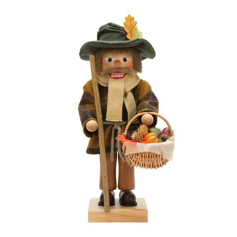 Alexander Taron Christian Ulbricht Harvest Wood Nutcracker