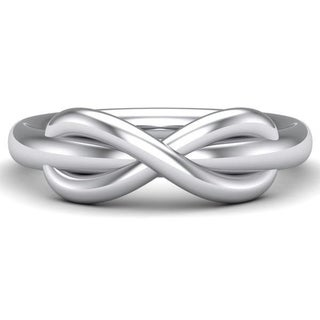 White Gold Filled Infinity Ring