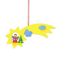 Christian Ulbricht Holiday Christmas Home Decor Angel In Comet Ornament