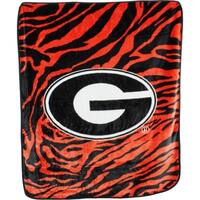 "Georgia Bulldogs Raschel Throw Blanket 50"" x 60"""