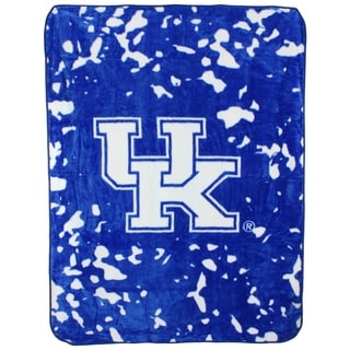 "Kentucky Wildcats Throw Blanket / Bedspread 63"" x 86"""