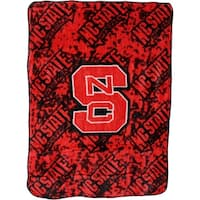 "NC State Wolfpack Throw Blanket / Bedspread 63"" x 86"""