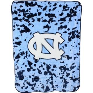 """North Carolina Tar Heels Throw Blanket / Bedspread 63"""" x 86"""""""