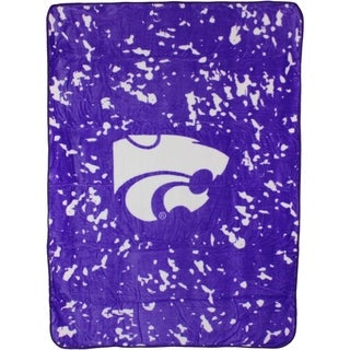 "Kansas State Wildcats Throw Blanket / Bedspread 63"" x 86"""