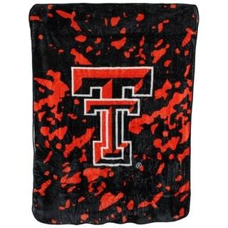 "Texas Tech Red Raiders Throw Blanket / Bedspread 63"" x 86"""