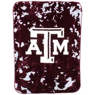 "Texas A&M Aggies Throw Blanket / Bedspread 63"" x 86"""