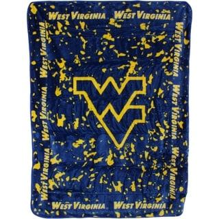 "West Virginia Mountaineers Throw Blanket / Bedspread 63"" x 86"""