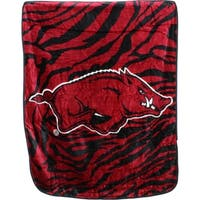 "Arkansas Razorbacks Raschel Throw Blanket 50"" x 60"""