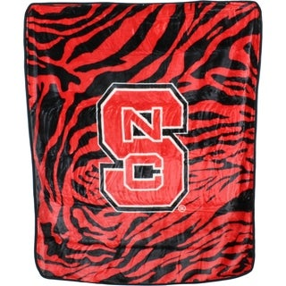 "North Carolina State Wolfpack Raschel Throw Blanket 50"" x 60"""