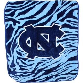 """North Carolina Tar Heels Raschel Throw Blanket 50"""" x 60"""""""