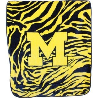 "Michigan Wolverines Raschel Throw Blanket 50"" x 60"""