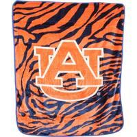 "Auburn Tigers Raschel Throw Blanket 50"" x 60"""