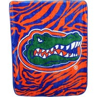 "Florida Gators Raschel Throw Blanket 50"" x 60"""