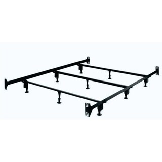 Legget & Platt Brown Metal King-size Bed Frame