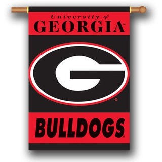 Collegiate 2-Sided 28x40 Team Logo Banner (More options available)