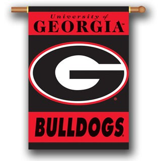 Collegiate 2-Sided 28x40 Team Logo Banner