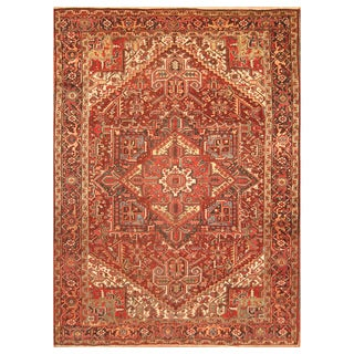 Handmade Heriz Wool Rug (Iran) - 8'9 x 11'3