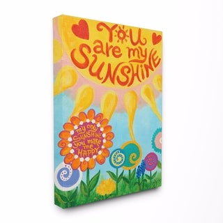 Stupell Industries You Are My Sunshine Wall Art