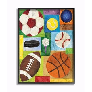 Stupell Industries Multi-Sport Wall Art