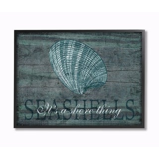 Stupell Industries It's A Shore Thing Seashell Wall Art (2 options available)
