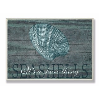 Stupell Industries It's A Shore Thing Seashell Wall Art
