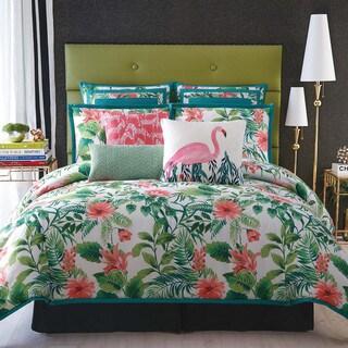 Christian Siriano Tropicalia Printed 3-Piece Comforter Set
