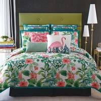 Christian Siriano Tropicalia Printed 3-Piece Comforter Set