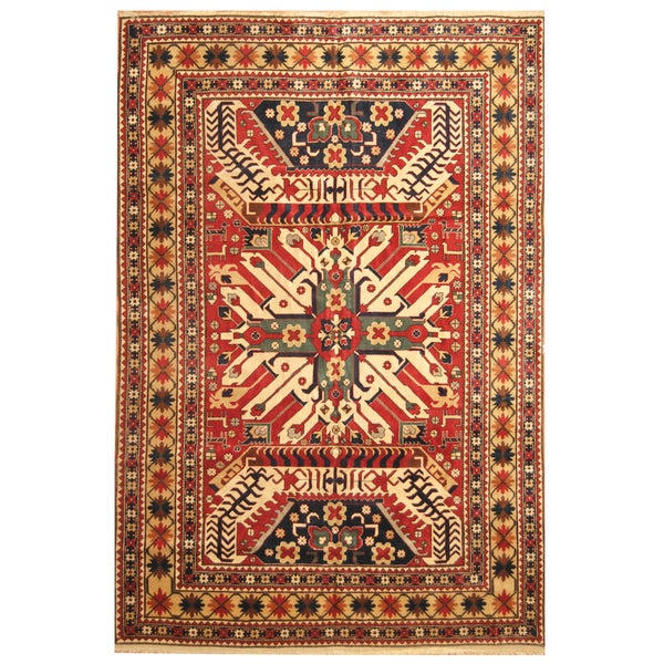 Shop Handmade Herat Oriental Turkish Hand-Knotted Kazak