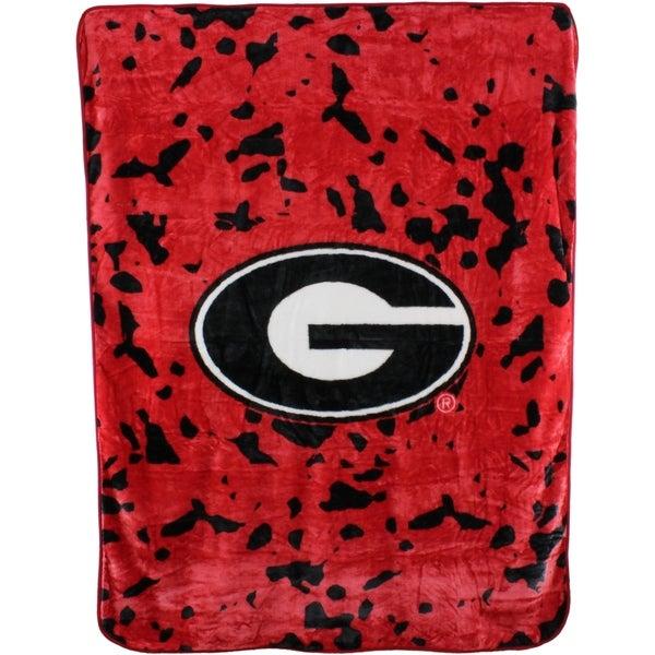 Shop Georgia Bulldogs Throw Blanket Bedspread 63 Quot X 86