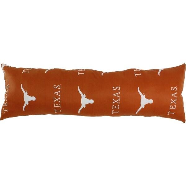 Shop Texas Longhorns Big Comfy Body Pillow 20 Quot X 60