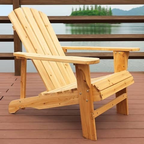 PATIO FESTIVAL All Wood OUTDOOR Adirondack Chair