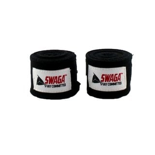 Swaga Boxing Hand Wraps - 1 Pair / 3 Color Options