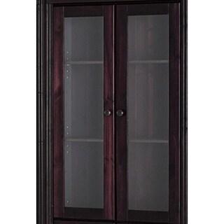 Annabelle Set of Glass Doors (Bookshelf not included)
