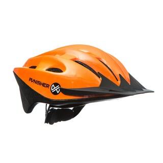 Punisher 18-Vent, Adjustable, Adult Cycling Helmet in Bright Orange